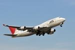Frightmenさんが、成田国際空港で撮影した日本航空 747-446の航空フォト(写真)