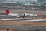 たろさんが、伊丹空港で撮影した日本エアコミューター DHC-8-402Q Dash 8の航空フォト(写真)