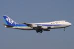 speedbirdさんが、羽田空港で撮影した全日空 747SR-81の航空フォト(写真)