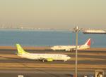 ケメルストレートさんが、羽田空港で撮影したスカイネットアジア航空 737-4H6の航空フォト(写真)
