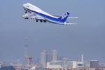 VIPERさんが、羽田空港で撮影した全日空 747-481(D)の航空フォト(写真)