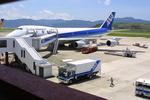 meijeanさんが、長崎空港で撮影した全日空 747SR-81の航空フォト(写真)
