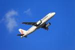 たろさんが、那覇空港で撮影した香港ドラゴン航空 A320-232の航空フォト(写真)
