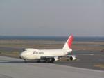 hachiさんが、中部国際空港で撮影した日本航空 747-246Fの航空フォト(写真)