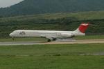 ライトレールさんが、隠岐空港で撮影したJALエクスプレス MD-81 (DC-9-81)の航空フォト(写真)