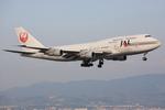 speedbirdさんが、関西国際空港で撮影した日本航空 747-346の航空フォト(写真)