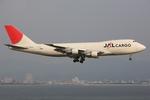 speedbirdさんが、関西国際空港で撮影した日本航空 747-221F/SCDの航空フォト(写真)