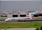 MOHICANさんが、福岡空港で撮影した日本エアシステム MD-90-30の航空フォト(写真)
