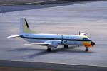 しょうせいさんが、岡山空港で撮影した国土交通省 航空局 YS-11-104の航空フォト(写真)