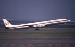 sin747さんが、羽田空港で撮影した日本航空 DC-8-61の航空フォト(写真)