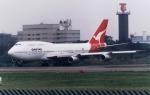 inopyonさんが、成田国際空港で撮影したカンタス航空 747-338の航空フォト(写真)