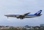 ギ―ピロさんが、那覇空港で撮影した全日空 747SR-81の航空フォト(写真)