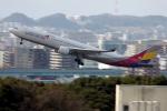 Koenig117さんが、福岡空港で撮影したアシアナ航空 A330-323Xの航空フォト(写真)