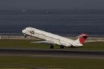 いっくんさんが、中部国際空港で撮影したJALエクスプレス MD-81 (DC-9-81)の航空フォト(写真)