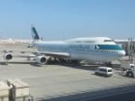 JA8039 TSUKUBAさんが、羽田空港で撮影したキャセイパシフィック航空 747-467の航空フォト(写真)