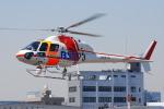 へりさんが、東京ヘリポートで撮影した朝日航洋 AS355F1 Ecureuil 2の航空フォト(写真)