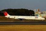 JA8943さんが、伊丹空港で撮影した日本航空 MD-81 (DC-9-81)の航空フォト(写真)