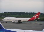 hachiさんが、成田国際空港で撮影したカンタス航空 747-338の航空フォト(写真)
