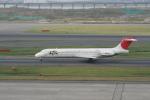 げんこつさんが、羽田空港で撮影した日本航空 MD-87 (DC-9-87)の航空フォト(写真)