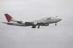 マサさんが、羽田空港で撮影した日本航空 747-446Dの航空フォト(写真)