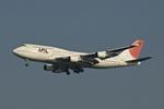 Zero Fuel Weightさんが、羽田空港で撮影した日本航空 747-446の航空フォト(写真)