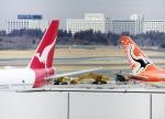 あかりんさんが、成田国際空港で撮影したカンタス航空 747-338の航空フォト(写真)