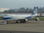 TAGUさんが、羽田空港で撮影した日本貨物航空 747-281B(SF)の航空フォト(写真)