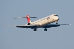 JGCさんが、熊本空港で撮影した日本航空 MD-90-30の航空フォト(写真)