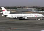 あかりんさんが、成田国際空港で撮影した日本航空 MD-11の航空フォト(写真)