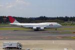 masyu1011さんが、成田国際空港で撮影した日本航空 747-446の航空フォト(写真)