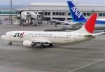 あかりんさんが、那覇空港で撮影した日本トランスオーシャン航空 737-4K5の航空フォト(写真)