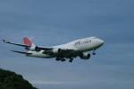 AKさんが、成田国際空港で撮影した日本航空 747-446(BCF)の航空フォト(写真)