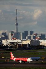 Koenig117さんが、羽田空港で撮影したエアアジア・ジャパン(〜2013) A320-216の航空フォト(写真)