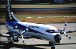 ニャーポンさんが、鹿児島空港で撮影したエアーニッポン YS-11A-213の航空フォト(写真)