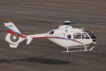 へりさんが、名古屋飛行場で撮影したユーロコプタージャパン EC135T2の航空フォト(写真)