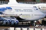あかりんさんが、成田国際空港で撮影したニュージーランド航空 747-4F6の航空フォト(写真)