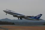 sumihan_2010さんが、広島空港で撮影した全日空 747-481(D)の航空フォト(写真)