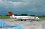 fu14さんが、鹿児島空港で撮影した日本航空 MD-81 (DC-9-81)の航空フォト(写真)