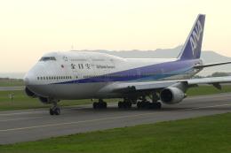 カワPさんが、函館空港で撮影した全日空 747-481(D)の航空フォト(写真)