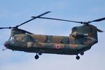 もんもんさんが、岐阜基地で撮影した航空自衛隊 CH-47Jの航空フォト(写真)