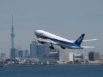 aquaさんが、羽田空港で撮影した全日空 777-281の航空フォト(写真)
