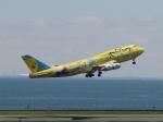 aquaさんが、羽田空港で撮影した全日空 747-481(D)の航空フォト(写真)