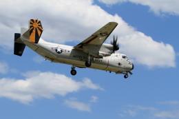 mitakatsuさんが、厚木飛行場で撮影したアメリカ海軍 C-2A Greyhoundの航空フォト(写真)
