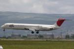 チーボーさんが、熊本空港で撮影した日本航空 MD-81 (DC-9-81)の航空フォト(写真)