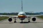 まっちゃんさんが、秋田空港で撮影した日本航空 A300B2K-3Cの航空フォト(写真)