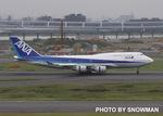 snowmanさんが、羽田空港で撮影した全日空 747-481の航空フォト(写真)