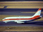 nishikiさんが、羽田空港で撮影した日本トランスオーシャン航空 737-2Q3/Advの航空フォト(写真)
