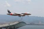 たろさんが、関西国際空港で撮影したジェットスター・ジャパン A320-232の航空フォト(写真)