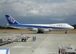 Bokuranさんが、鹿児島空港で撮影した全日空 747SR-81の航空フォト(写真)