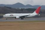 bushitsukeさんが、函館空港で撮影した日本航空 767-246の航空フォト(写真)